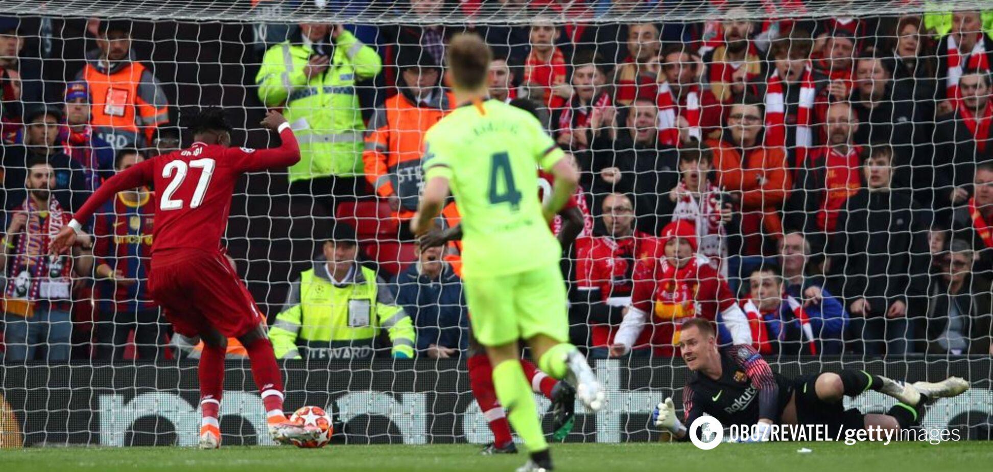 'Ліверпуль' здійснив божевільний камбек із 'Барселоною' і вийшов до фіналу Ліги чемпіонів