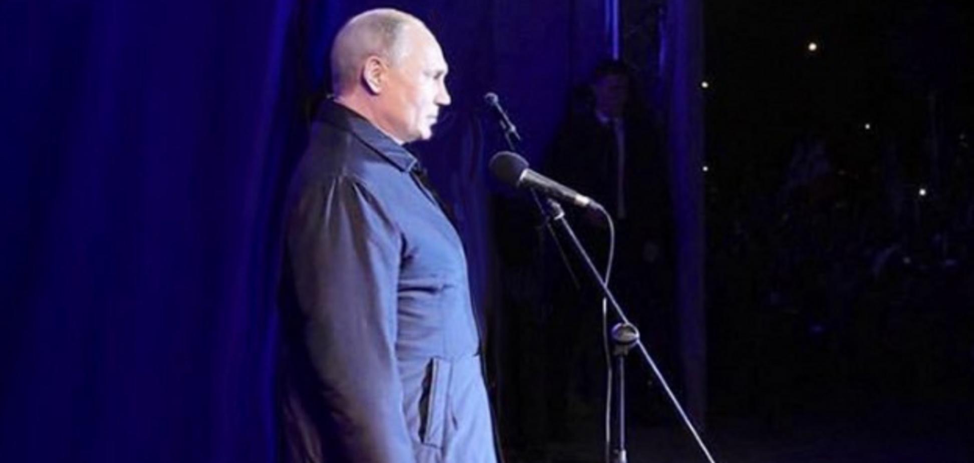 'Броненосець!' Путіна їдко висміяли у мережі через зовнішній вигляд