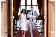 Меган Маркл і принц Гаррі розкрили ім'я сина