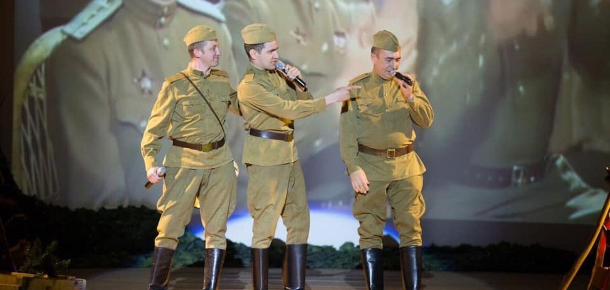Главный военный вуз Украины опозорился праздничным 'победобесием': сеть в гневе