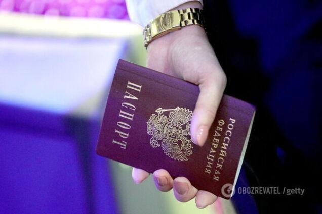 Паспорти РФ на Донбасі: Україна вдалася до радикальних заходів