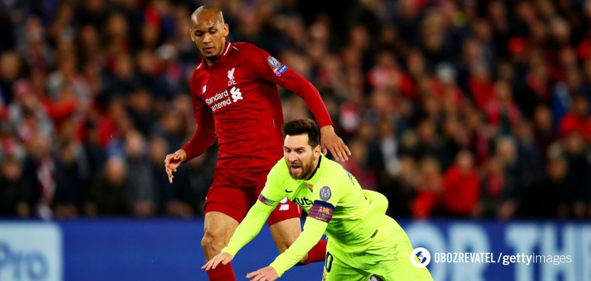 Ливерпуль – Барселона: смотреть обзор полуфинала Лиги чемпионов