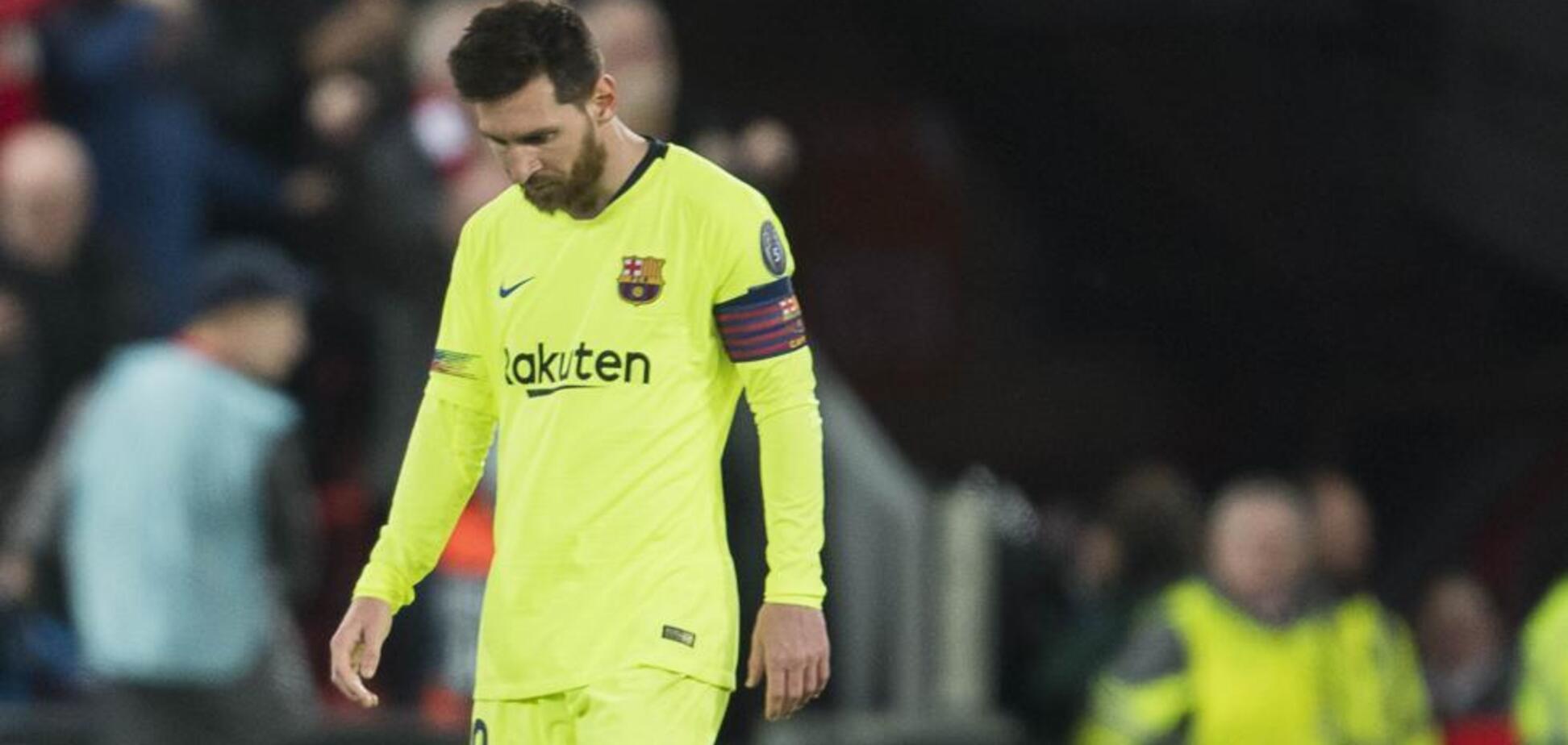 Сдали нервы: Месси повздорил с фанатами 'Барселоны' после позора с 'Ливерпулем' – видео