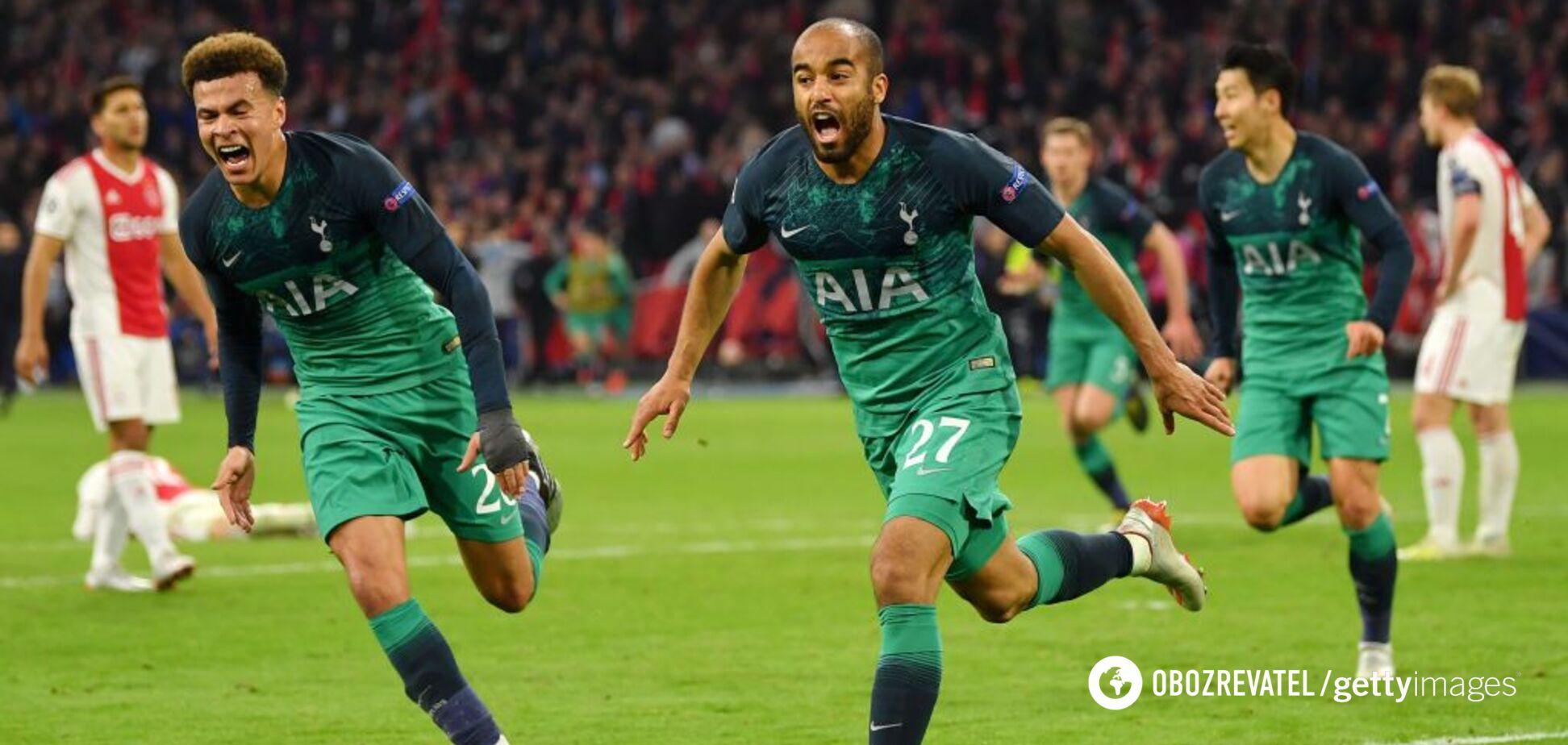 Неймовірний камбек: 'Тоттенхем' забив 'Аяксу' на останній секунді та вийшов у фінал Ліги чемпіонів