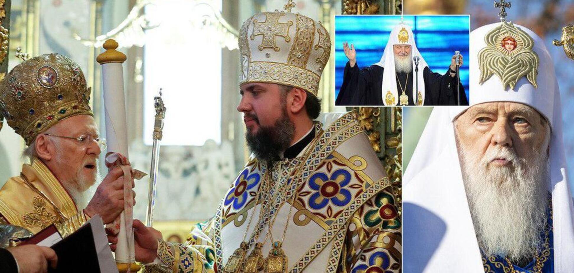 Филарет внезапно заявил о восстановлении УПЦ КП