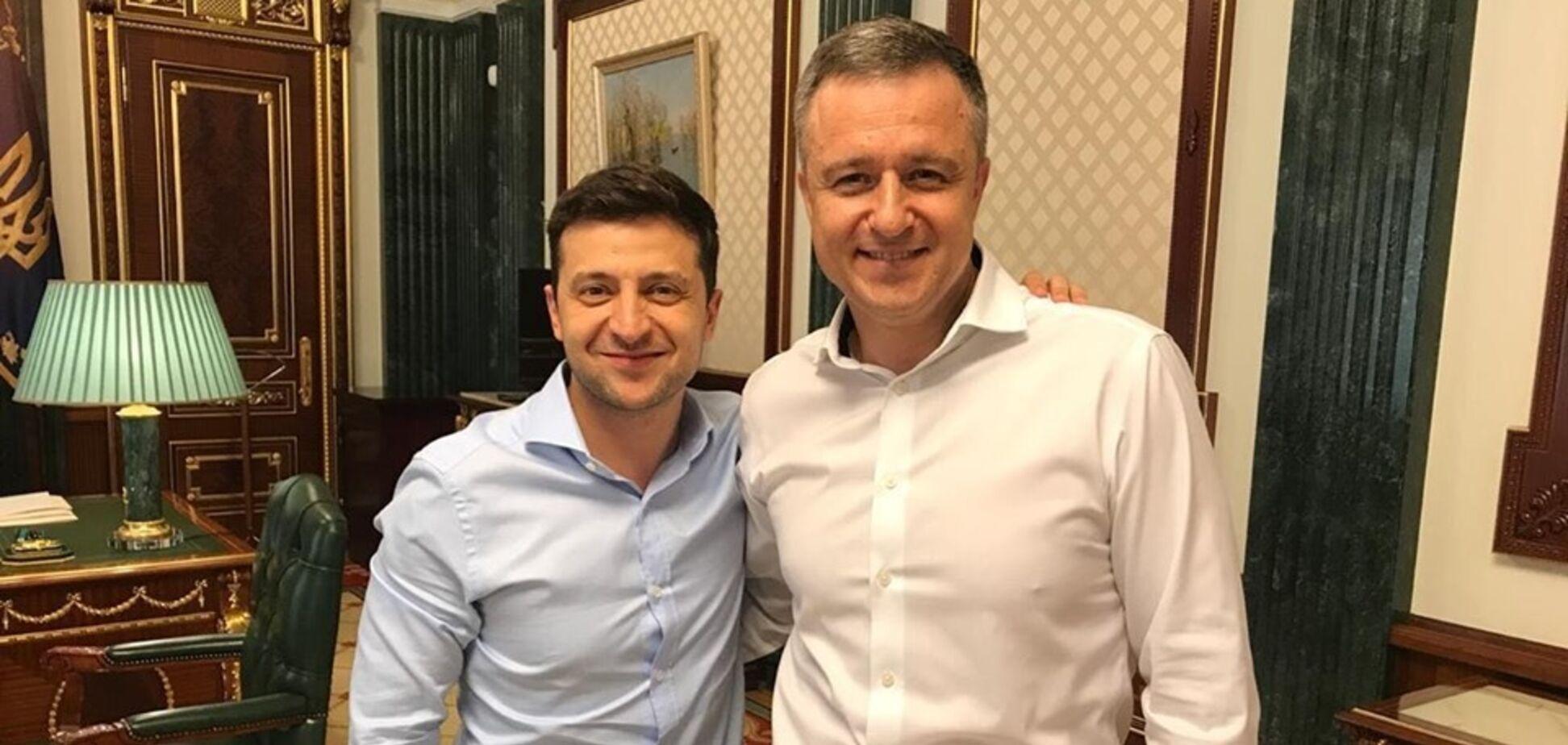 Владимир Зеленский и Николай Кулеба