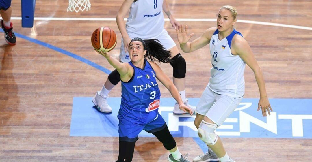 Украинки проиграли Италии в рамках подготовки к Евробаскету