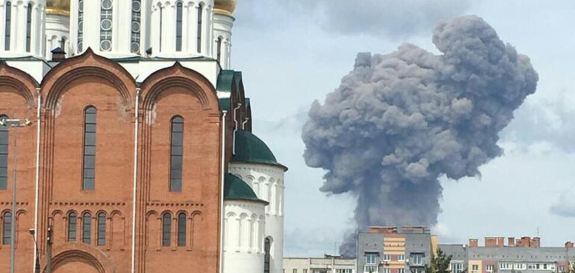 'Выбило стекла в домах': в Дзержинске мощно рванул завод боеприпасов. Фото и видео ЧП