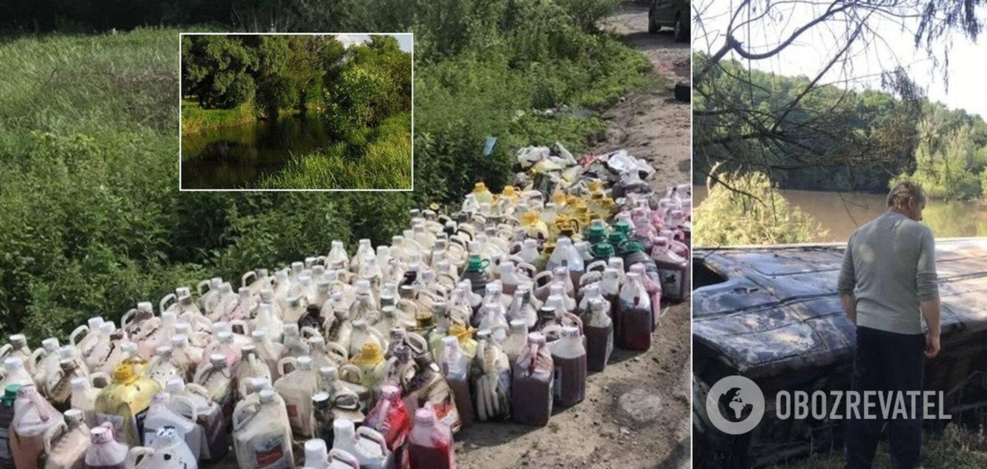 Воды хватит на сутки: выяснились детали аварии с химикатами под Киевом