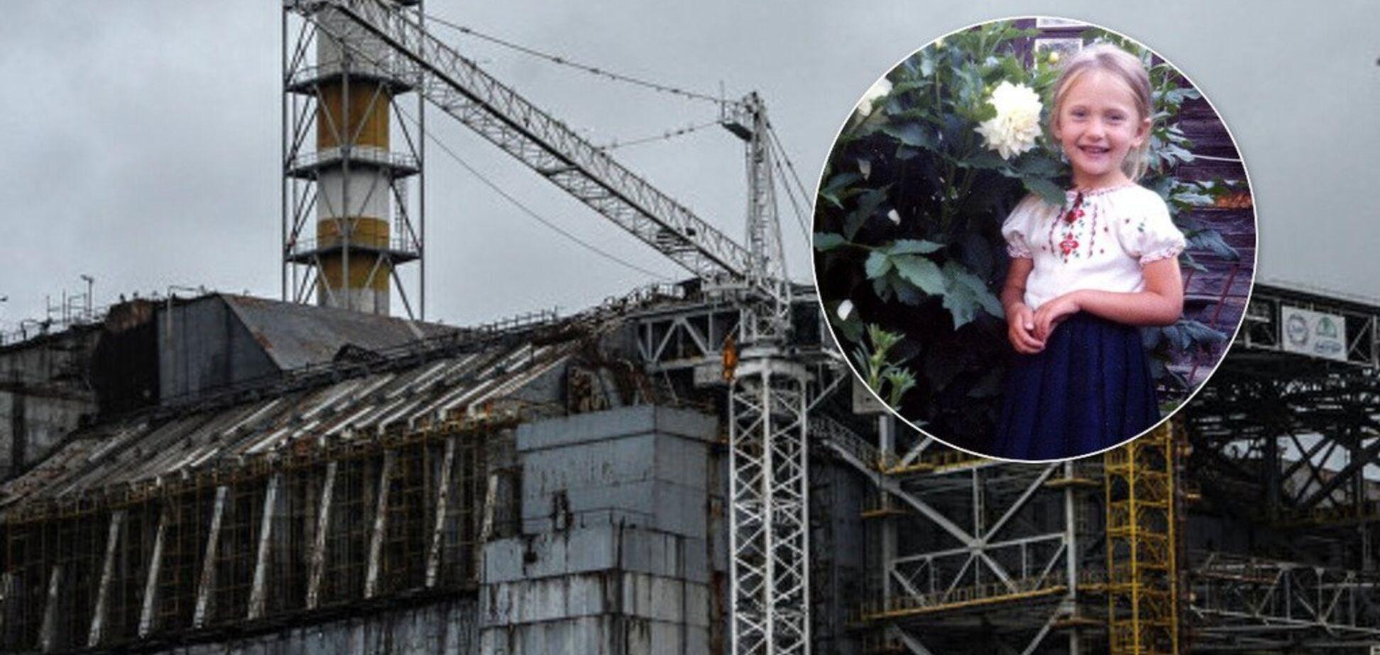 Ребенок Чернобыля Мария