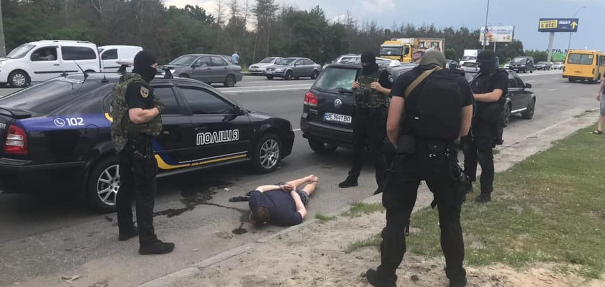 На Киевщине поймали банду угонщиков авто: все подробности