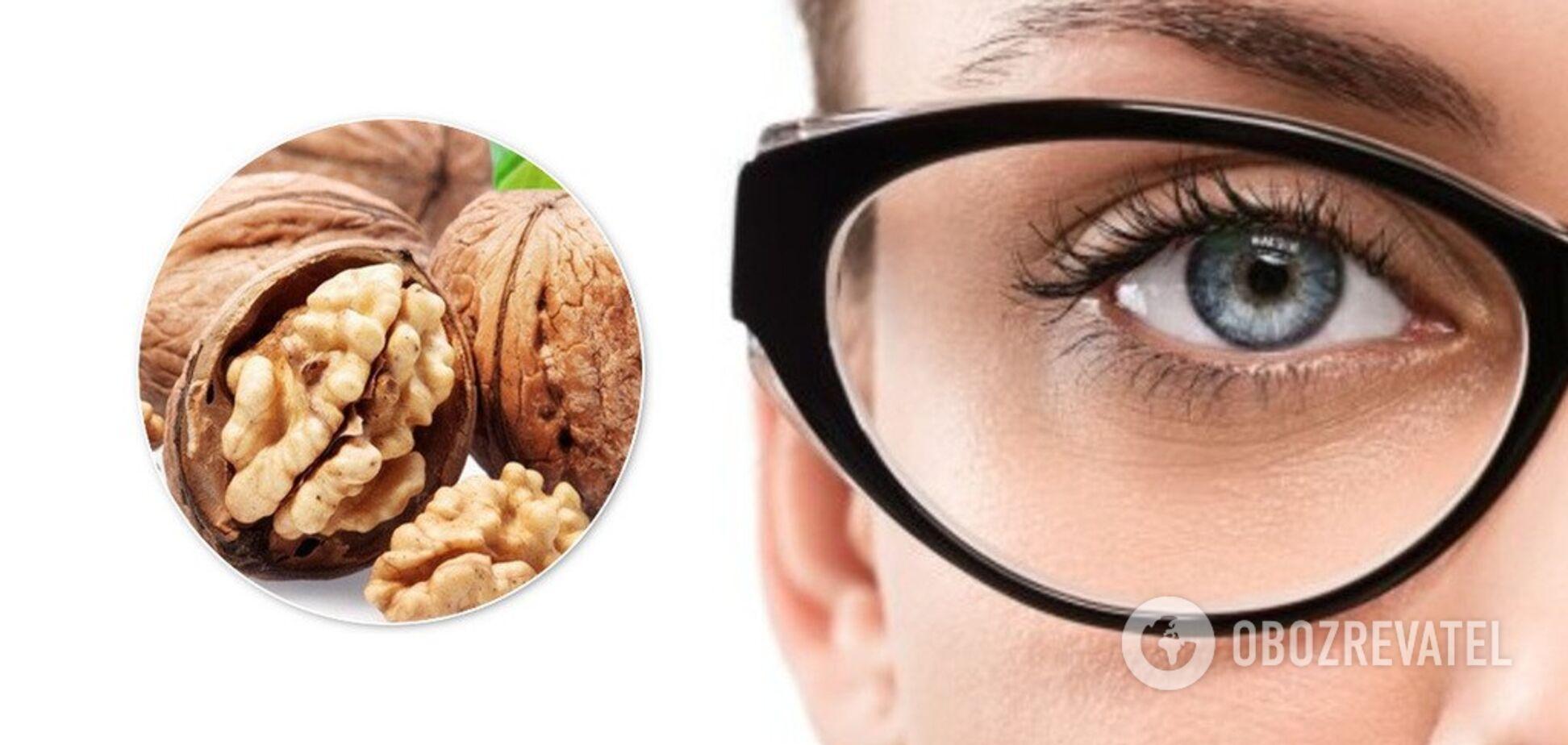Как сохранить зрение: названы топ-7 продуктов