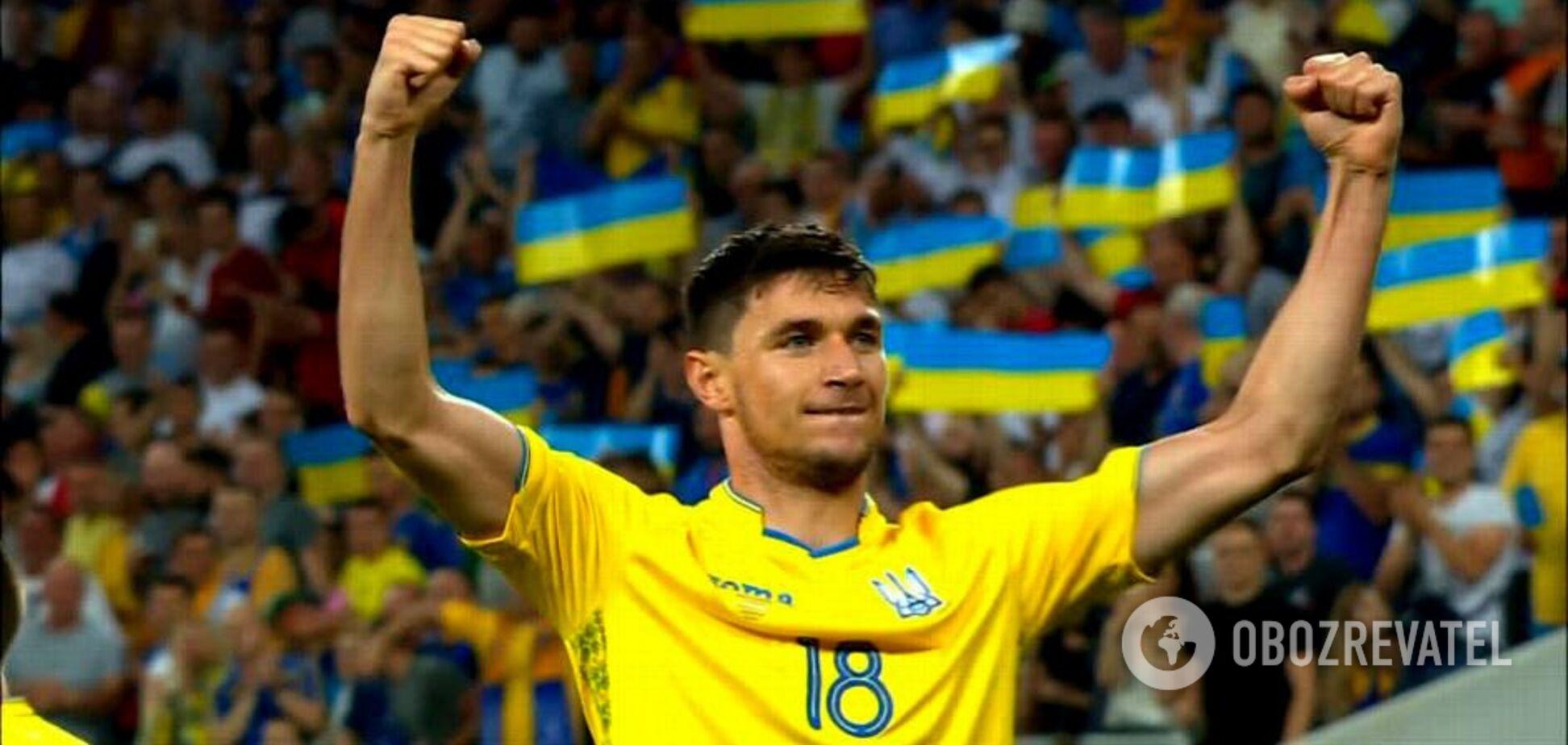 Украина добыла непростую победу в отборе Евро-2020