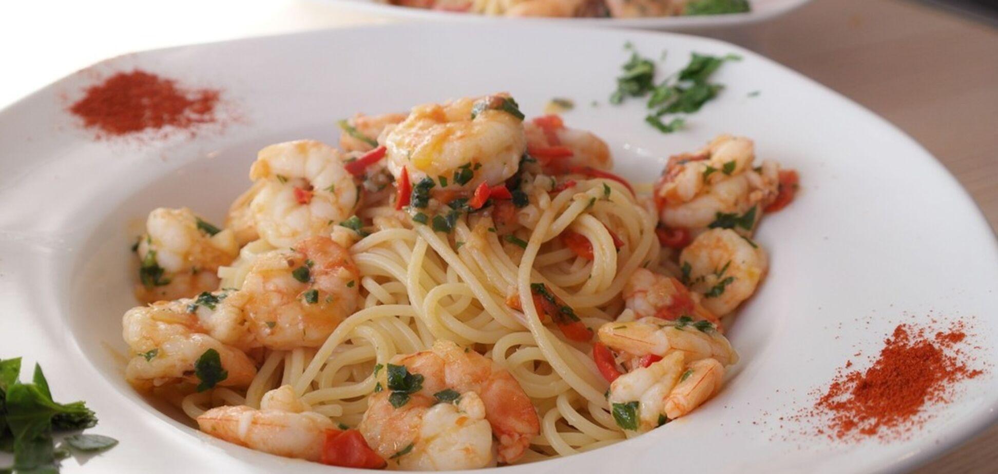 Паста с креветками за 15 минут: простой рецепт удивительного блюда от ресторатора