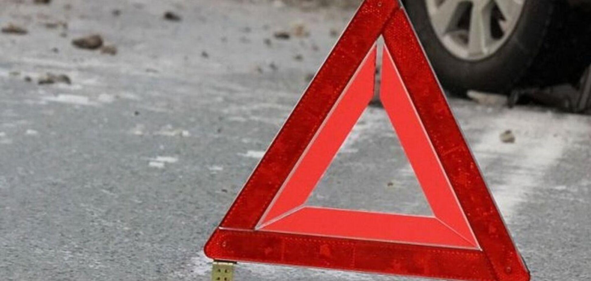 'Пробил головой лобовое стекло!' В Киеве произошло жуткое ДТП. Фото