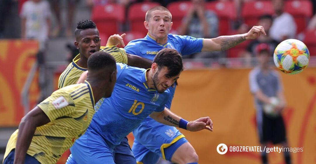 Украина – Италия: результат полуфинала ЧМ по футболу U-20