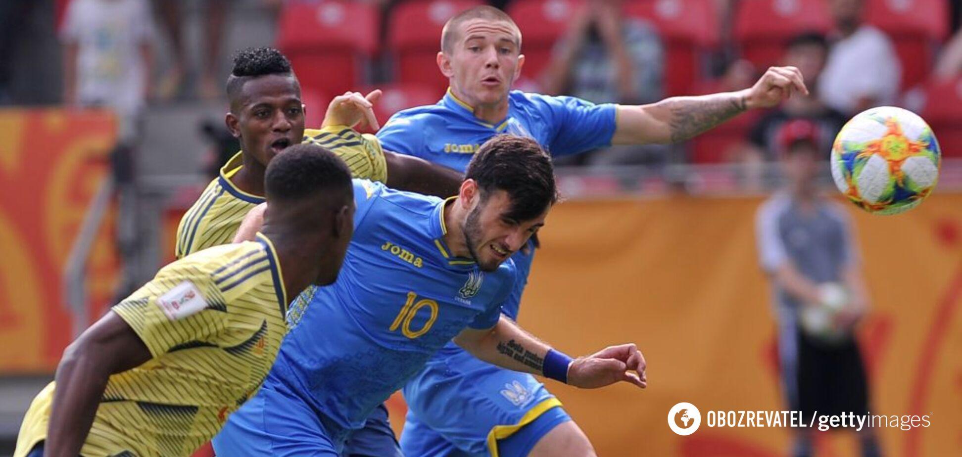 Україна – Італія: результат півфіналу ЧС з футболу U-20