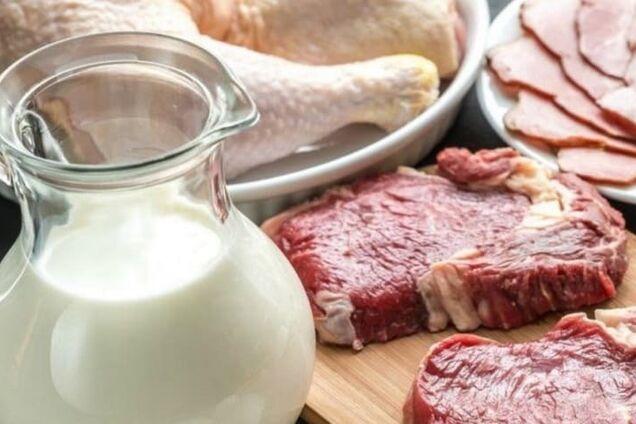 Молоко и мясо опасны для здоровья