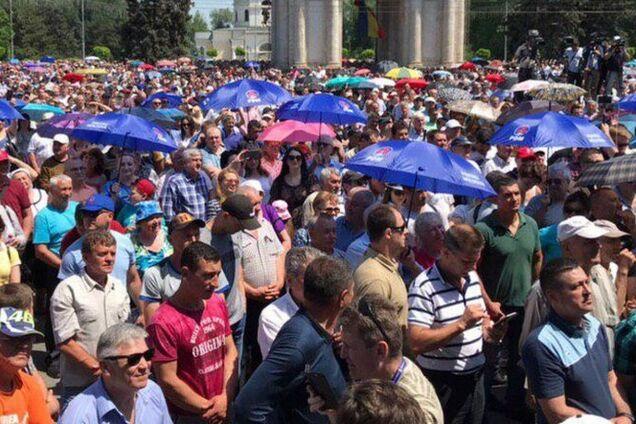 Протести в Кишиневі