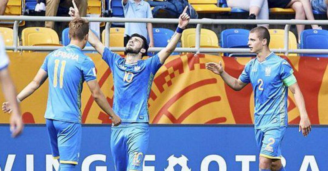 Украина - Италия: видео победного гола на ЧМ по футболу U-20