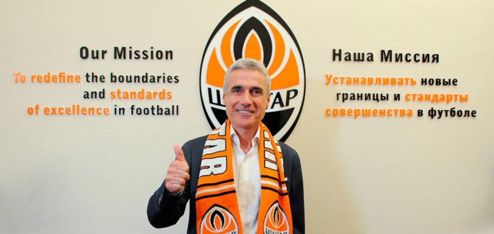 Офіційно: 'Шахтар' назвав нового головного тренера