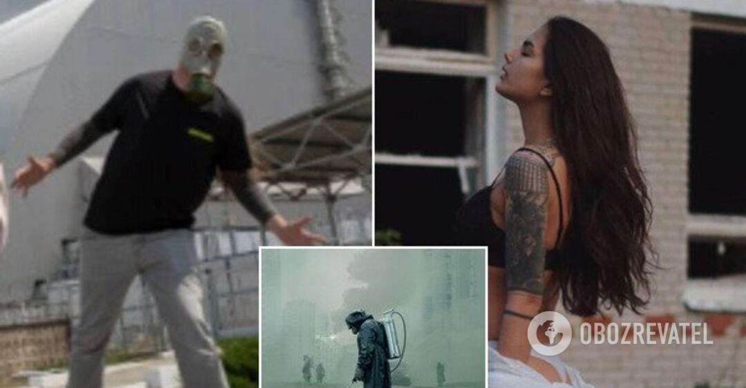"""""""Ни мозгов, ни уважения"""": в сети разгорелся скандал из-за пикантных кадров в Чернобыле"""