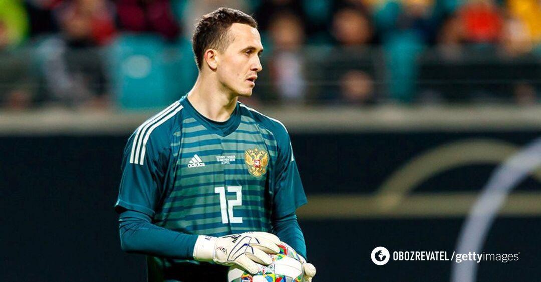 Вратарь сборной России устроил пьяный скандал и был арестован