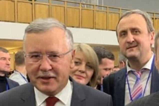 Анатолий Гриценко и Александр Комарницкий