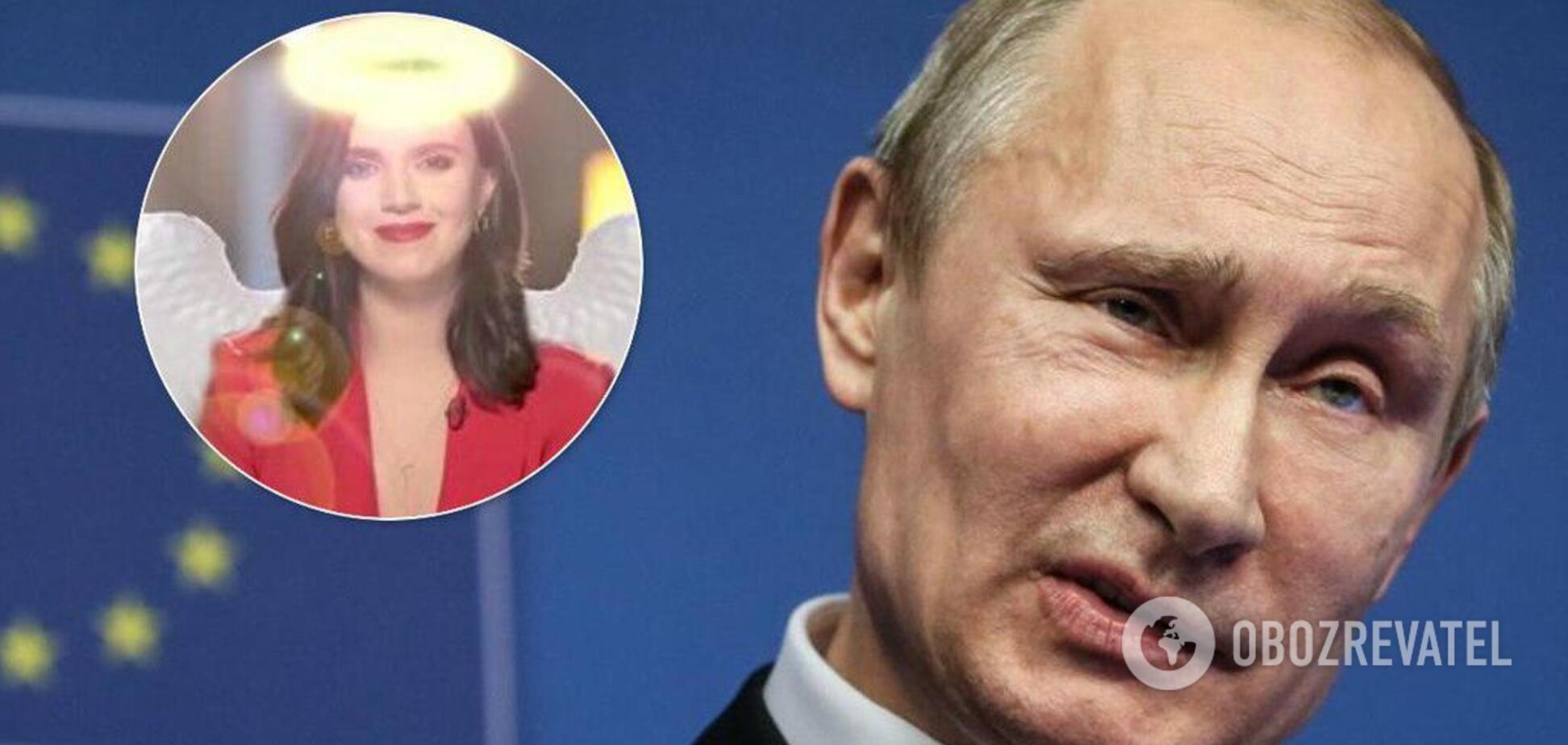 Путин и Соколова