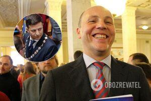 КСУ против Зеленского: Парубий передал документы, которые могут сорвать выборы