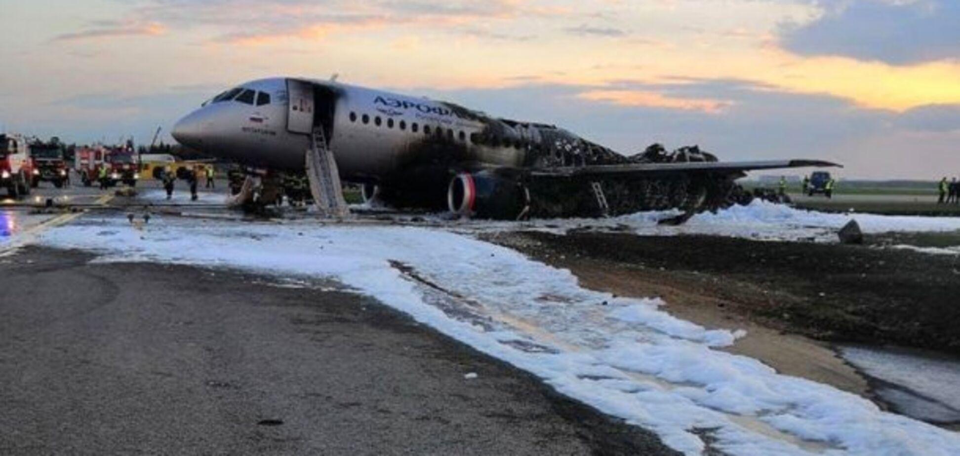 В крушении 'суперджета' виновато руководство 'Аэрофлота'