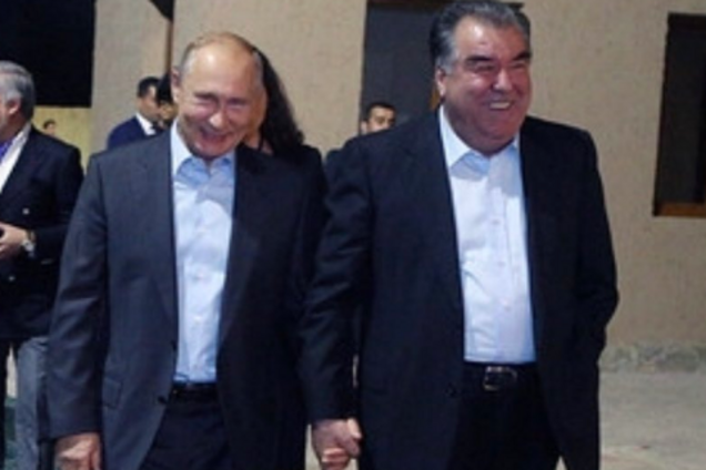 Володимир Путін і Емомалі Рахмон
