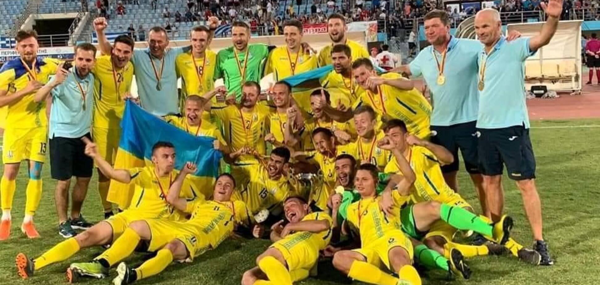 Україна виграла чемпіонат Європи з футболу серед тих, кто погано чує