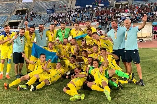 Украина выиграла чемпионат Европы по футболу среди слабослышащих