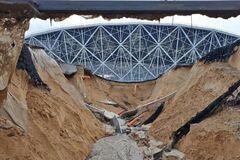 В России стадион ЧМ-2018 за 19 млрд смыло дождем