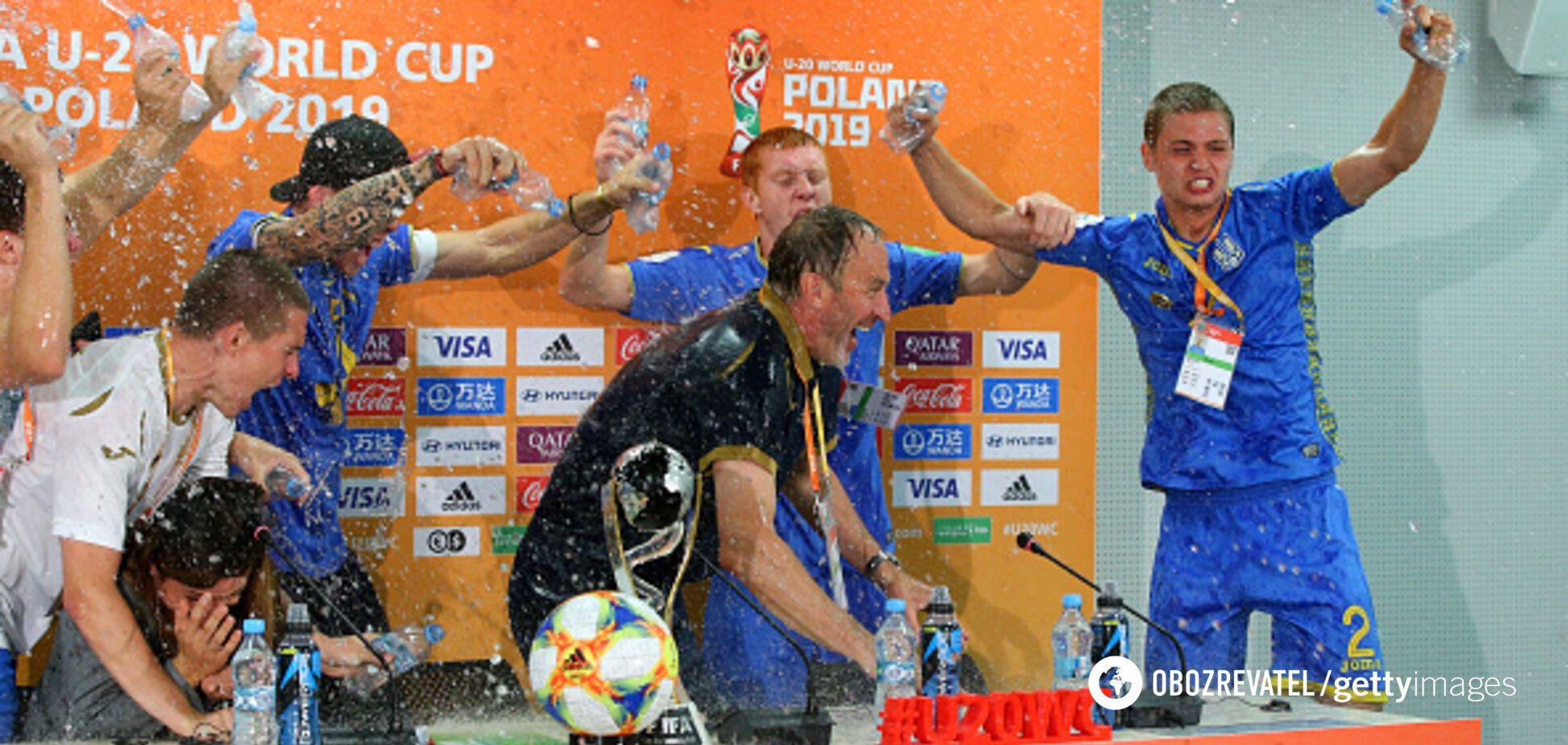 Украинские футболисты устроили 'беспредел' на пресс-конференции после финала ЧМ U-20