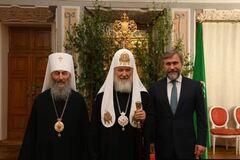Новинский и Онуфрий встретились с главой РПЦ Кириллом: что известно