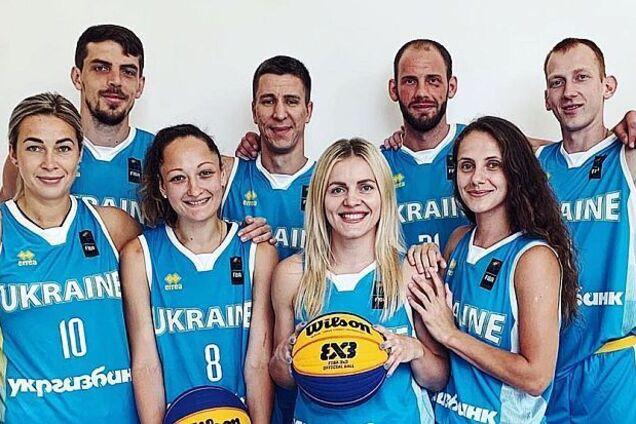 Збірні України з баскетболу 3х3