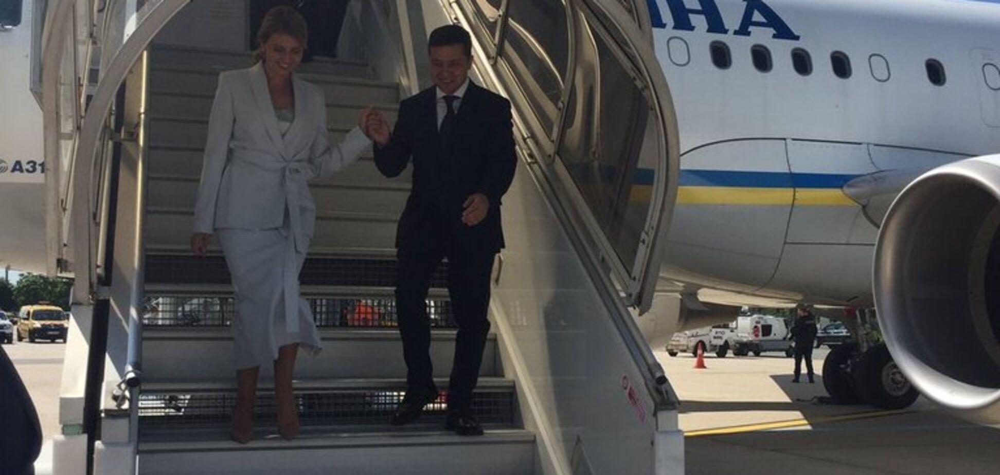 Зеленський із дружиною прибули з візитом до Франції: всі подробиці