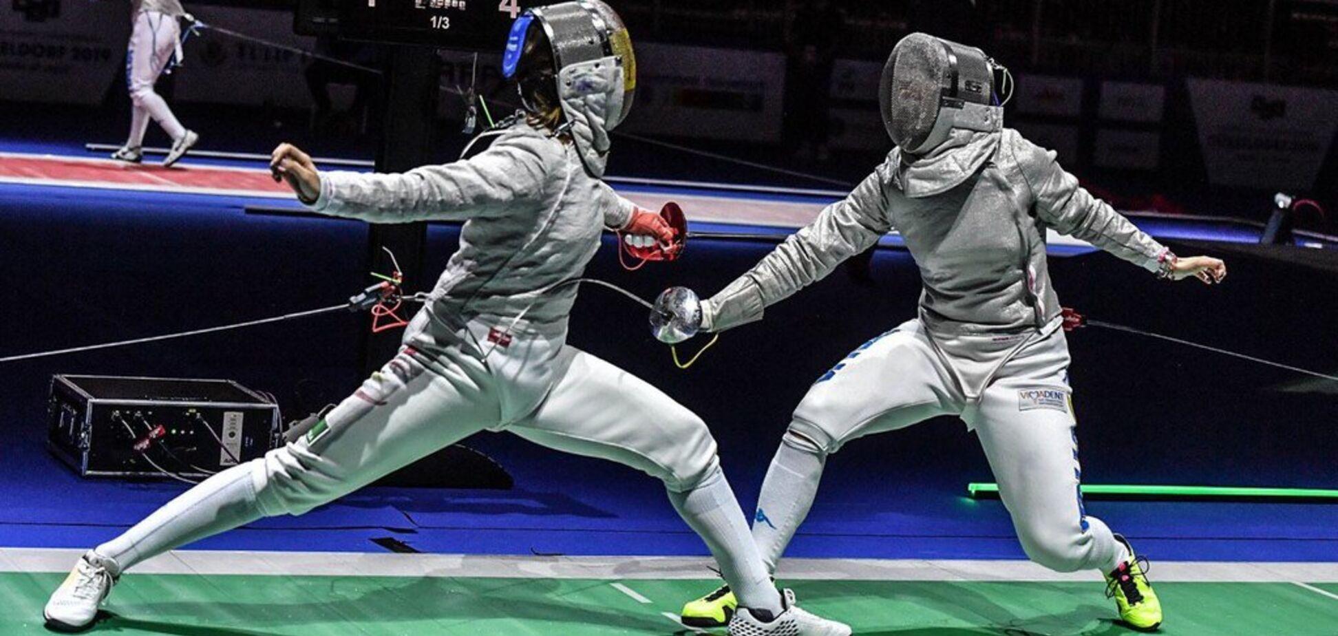 Украинка Харлан выиграла чемпионат Европы по фехтованию: видео триумфа