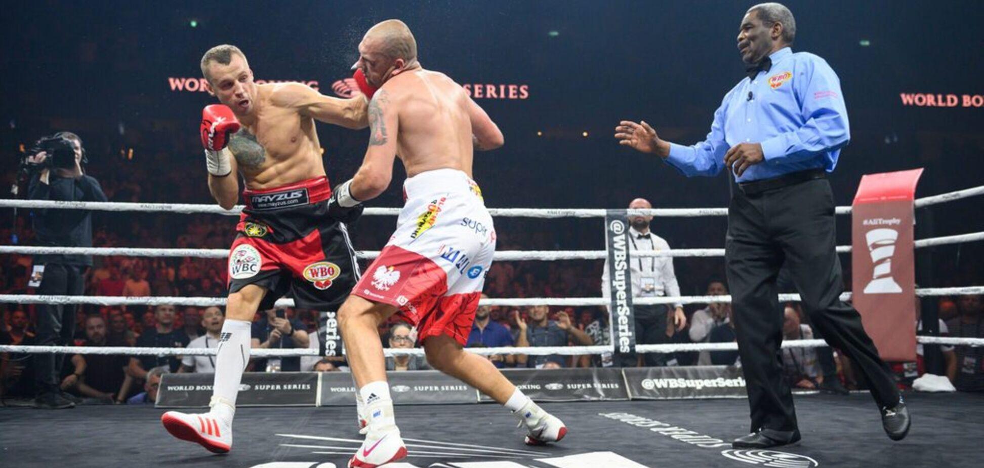 'Дикое дело': бой экс-соперников Усика в полуфинале WBSS обернулся грандиозным скандалом