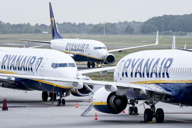 Иллюстрация. Самолеты Ryanair