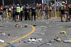 Полиция на параде в Торонто
