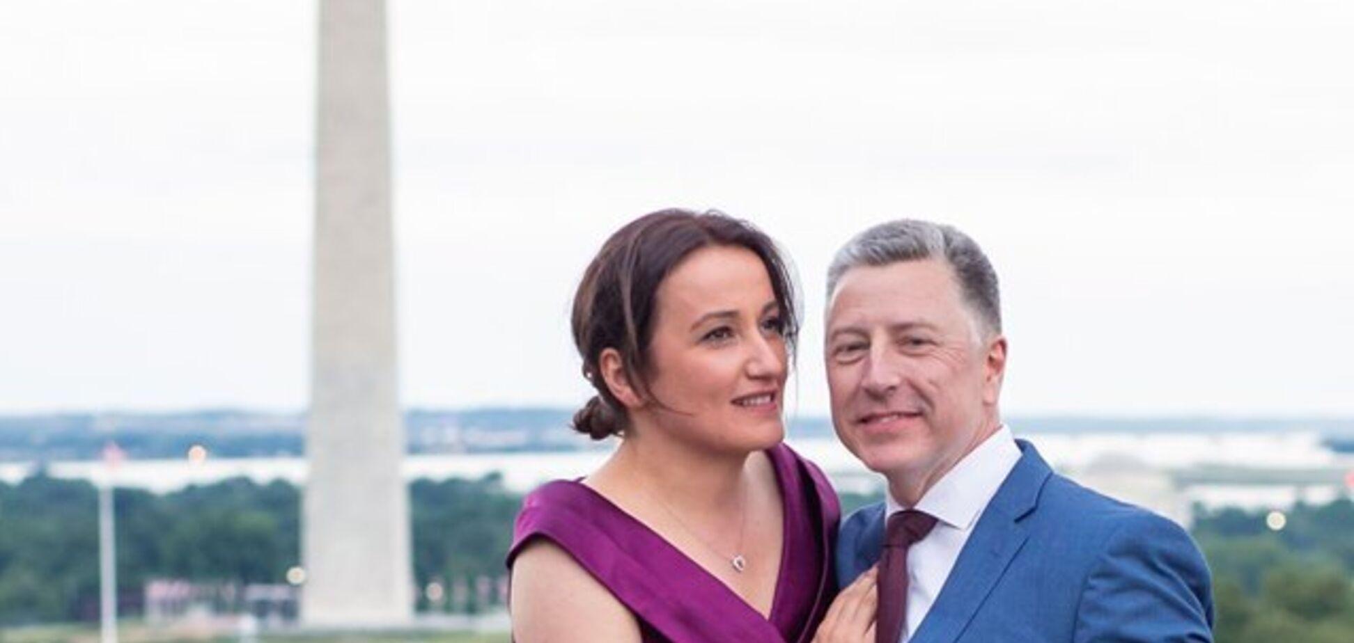 Волкер одружився з грузинською журналісткою: що про неї відомо