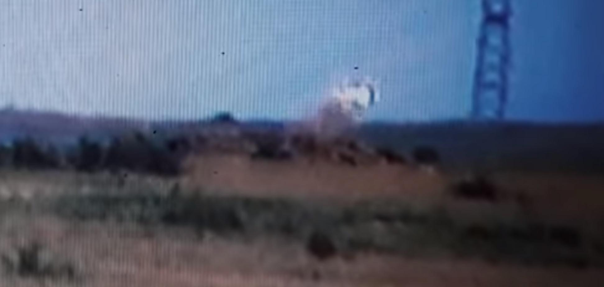 Меткий выстрел! Появилось видео разгрома позиции 'ДНР'