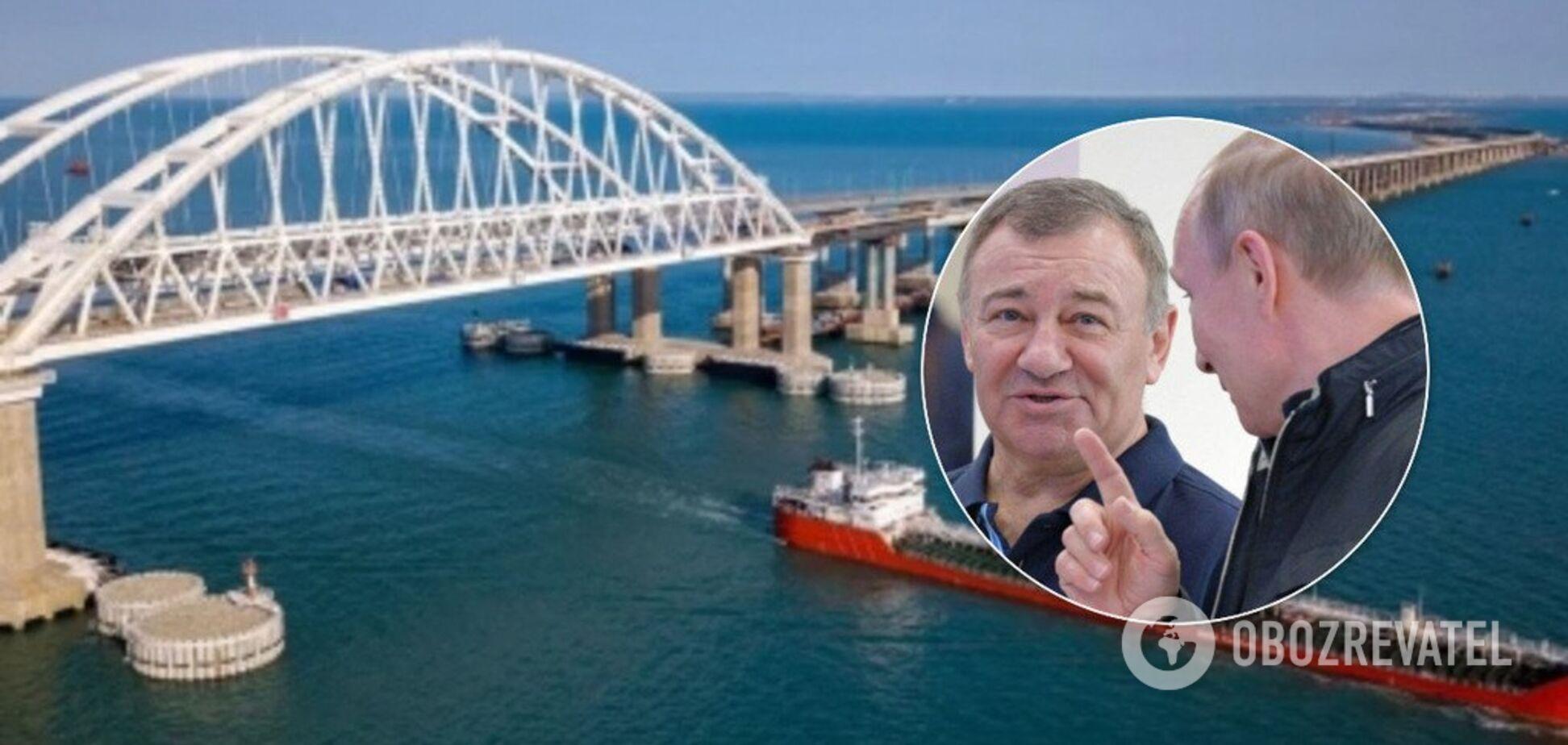 Аркадій Ротенберг отримав контракт на Кримський міст