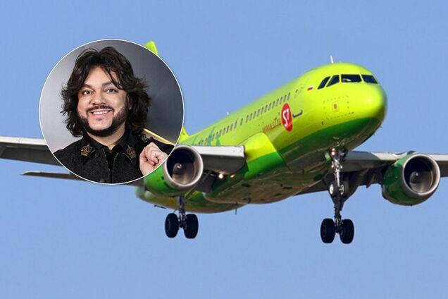 С самолетом Киркорова случилось ЧП при посадке: на борту были его дети