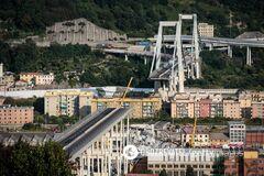 Обвал моста в Генуе: полиция Италии провела громкие аресты
