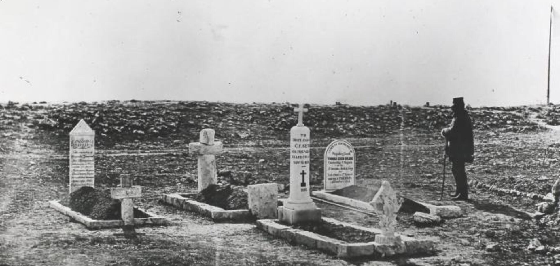 'Деды не те!' В Крыму поиздевались над могилами британских солдат