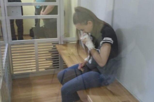 21-летняя виновница ДТП в суде